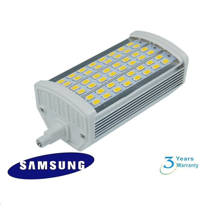 Dimmable 15w samsung smd5730 led source led r7s lamp 118mm for R7s 150w led