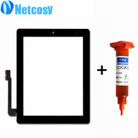 For Ipad 4 Touch Glass Screen Digitizer Home Button Assembly Replecement For Ipad 4 Touchscreen TP