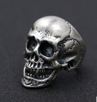 adjustable ring silver 925 ring skull rings men