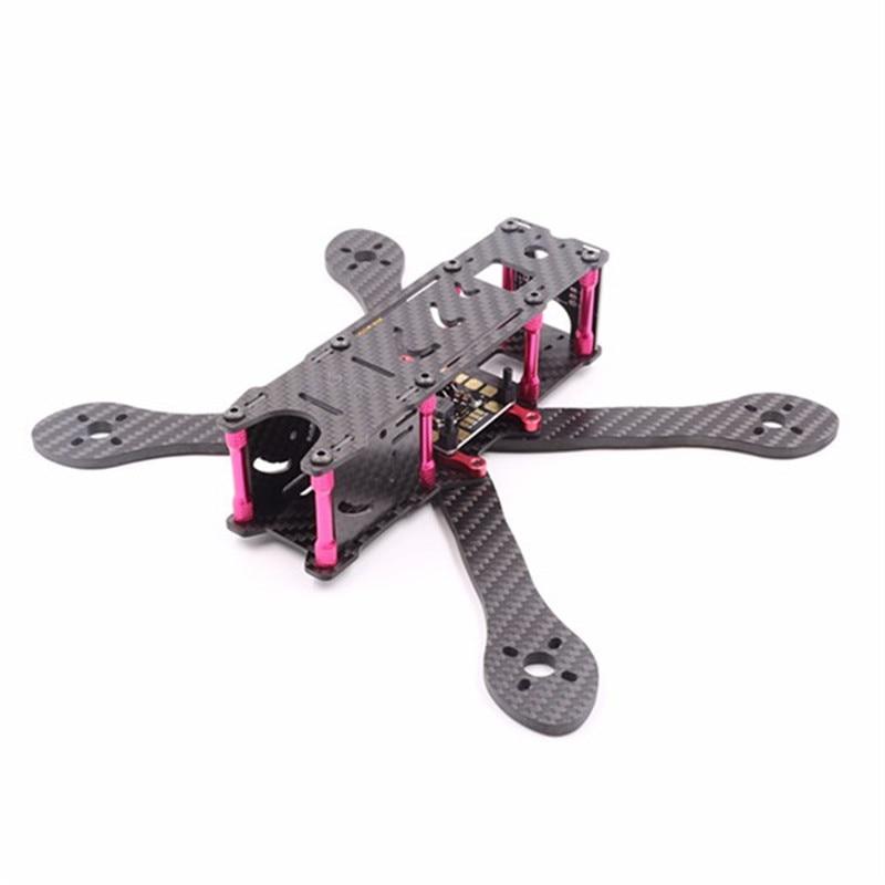 High Quality GEPRC GEP-VX Series 180mm/215mm/250mm Carbon Fiber Frame Kit w/ PDB BEC XT60 Plug for RC Multirotor geprc gep zx4 gep zx5 gep zx6 170mm 190mm 225mm 4 axis 3k carbon fiber frame kit with 12v 5v pdb board for rc multicopter