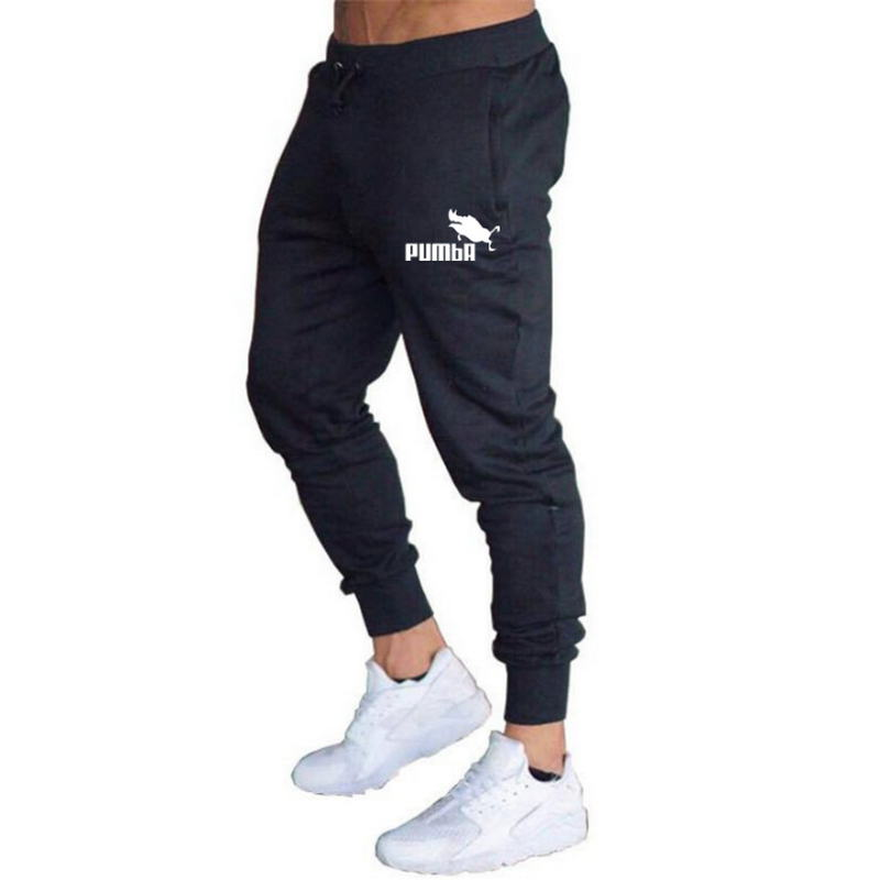 2018 summer New Fashion Thin section Pants Men Pumba Casual Trouser Jogger Bodybuilding Fitness Sweat Time limited Sweatpants in Skinny Pants from Men 39 s Clothing
