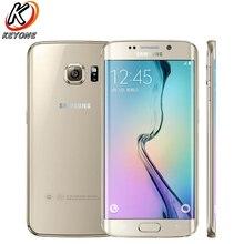 """Новый Samsung Galaxy S6 Edge g9250 LTE мобильный телефон 5.1 """"3 ГБ Оперативная память 64 ГБ Встроенная память Octa core 2560×1440 P 16.0mp Android NFC Смартфон"""