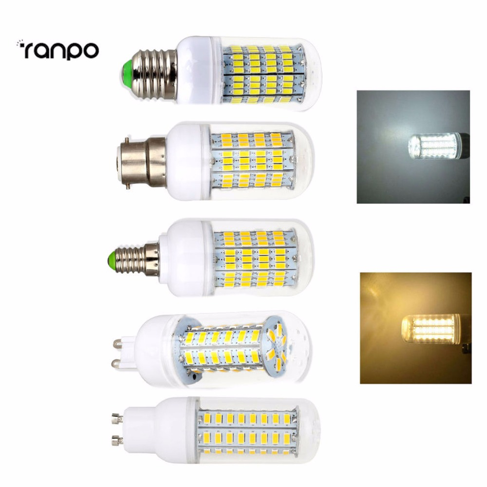 dimmable led corn bulb 5730 smd ampoule e27 g9 e14 b22. Black Bedroom Furniture Sets. Home Design Ideas