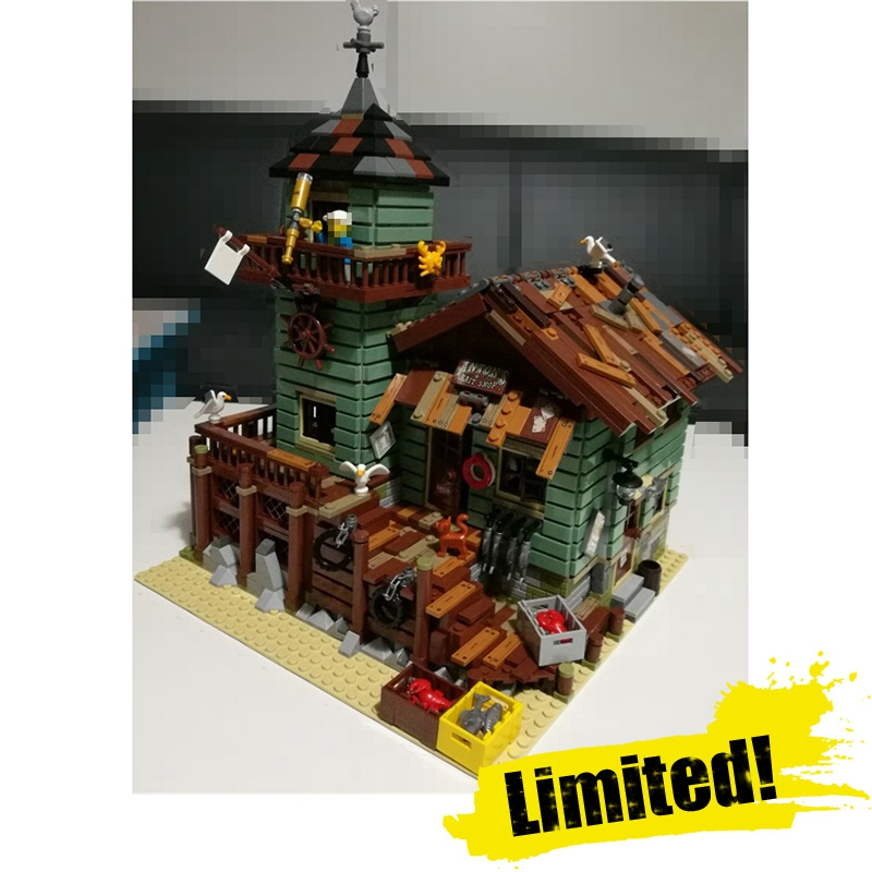 IN STOCK 16050 2109Pcs MOC Series The Old Finishing Store Children Educational Building LEPIN Blocks Bricks Toys Model the little old lady in saint tropez