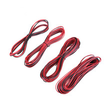 CLAITE 10 шт. 1 м/5 м/10 м 2 Pin ПВХ расширение провода Светодиодные ленты кабель консервированные Медь разъем Электрический кабель аксессуары для 3528 5050