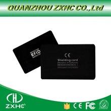 1Pcs/lot New RFID anti Theft shielding NFC information anti theft shielding Gift Shielding Module anti theft  blocking card