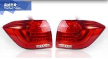 Kluger Car bumper lamp Tail Lights For Highlander Taillight 2012 2013 2014year Led Tail Lights Fog lamp Highlander Rear Lamp