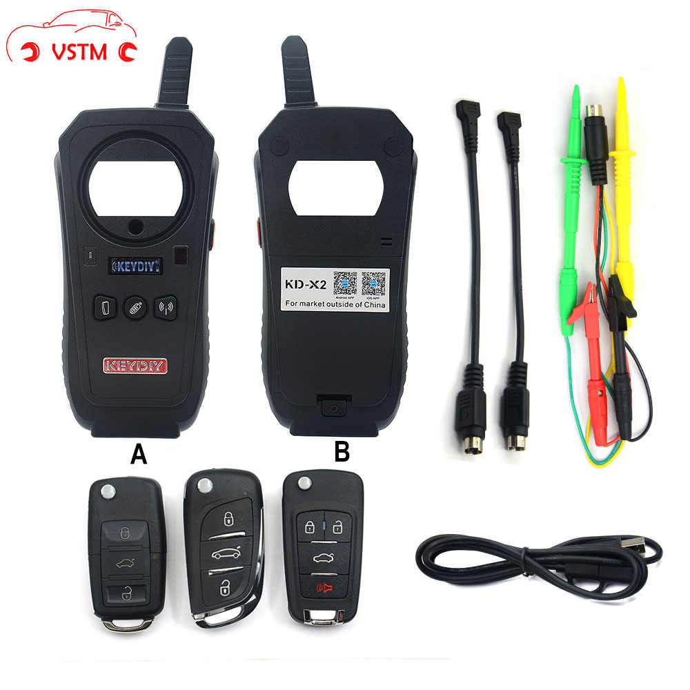 VSTM KEYDIY KD-X2 Car Key Garage Door Remote kd x2 Generater/Chip Reader/Frequency