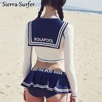 Swimming Suit For Women Swim Wear Swimsuit Female Bikini 2018 Suits Girls Swimwear 2018 New Skirt Long Sleeve Plavky Maillot De