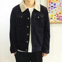 Hot Winter Denim Jacket Men Brand Clothing Denim Coat Men Casual Jacket And Coats Wool Thick