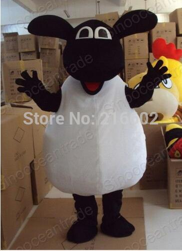 New Style Sheep Lamb Fancy Dress Mascot Costume Adult Size  for Halloween party event