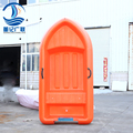 2. 3 PE strong plastic boat fishing boat with live water fish tank can be equipped with OUTBOARD ENGINE