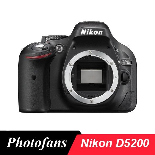 Nikon D5200 DSLR Fotoğraf Makinesi -24.1MP -Video -Vari Açılı LCD - Kamera ve Fotoğraf