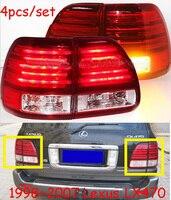 Lexu LX470 фонарь, светодиодный, 1998 ~ 2007 год, Бесплатная доставка! CT200h, ES250 ES300, GS350, GS430, GS460, gx460, RX300, RX350, nx200t, LX470 задние лампы