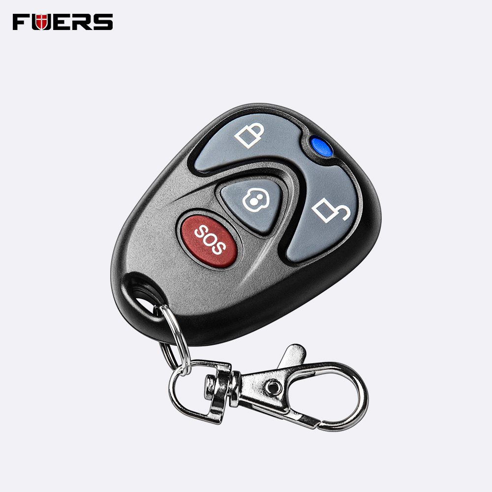 FUERS 433 MHz Wireless Remote Controller Home Security Remote Control Key For G90B PLUS GSM Alarm System
