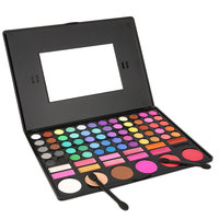 1SET 78 Colors Eye Shadow Cosmetic Make Up Palette Lipgloss Mirror Blush Kit Set Long Lasting