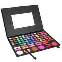 1SET 78 Colors Eye Shadow Cosmetic Make Up Palette Lipgloss Mirror Blush Kit Set Long Lasting