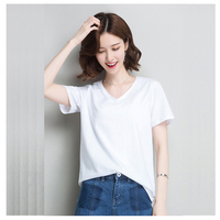 CHEWIES female T shirt women's summer t shirt 2019 short sleeve women's shirts korean clothes aesthetic top woman plus size