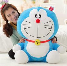 1Pcs 40cm 스탠드 나 도라에몽 플러시 장난감 인형 고양이 키즈 선물 아기 장난감 Kawaii 플러시 동물 플러시 아기와 소녀를위한 최고의 선물