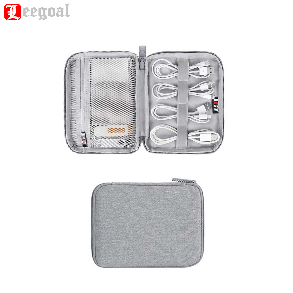 Electronics Accessories Storage Bag Travel Digital Polyester Bags Gadget Case Cable Organizer Earphone box Business Packet