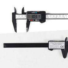 Vernier Digital Electronic Caliper Carbon Fiber Composite 6 inch 150 mm