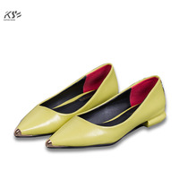 2017 Flats Women Summer Fashional Patent Genuine Leather Shoes Really Luxury Designer Comfortable Shoes Female