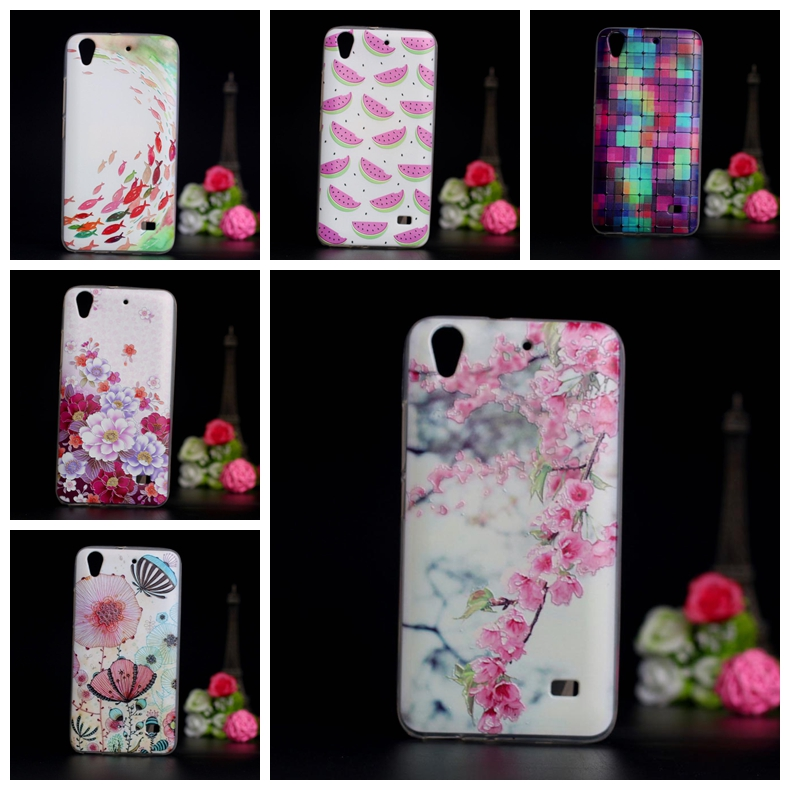 Painted Case For Huawei Ascend G620S G621 C8817E/D Honor Play 4 Cover Soft TPU Back Cover For Huawei Honor Play 4 Case