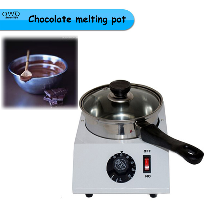 1PC 110V or 220V 200W 1.25kg Capacity Electric chocolate melter pot 1pcs 1000w 8kg capacity electric chocolate melter chocolate tempering machine