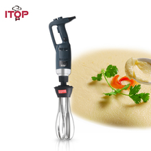 ITOP professional Heavy Duty 350W/500W Blender Machine Handheld immersion blender Ice Cream Food Mixer 110V 220V