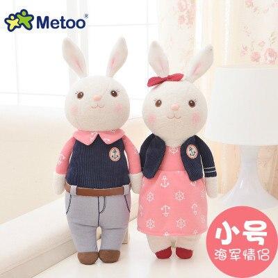 Free shipping!NEW! 34CM 1PAIR METOO Lovers doll Plush toys,birthday&Christmas gift for children стоимость