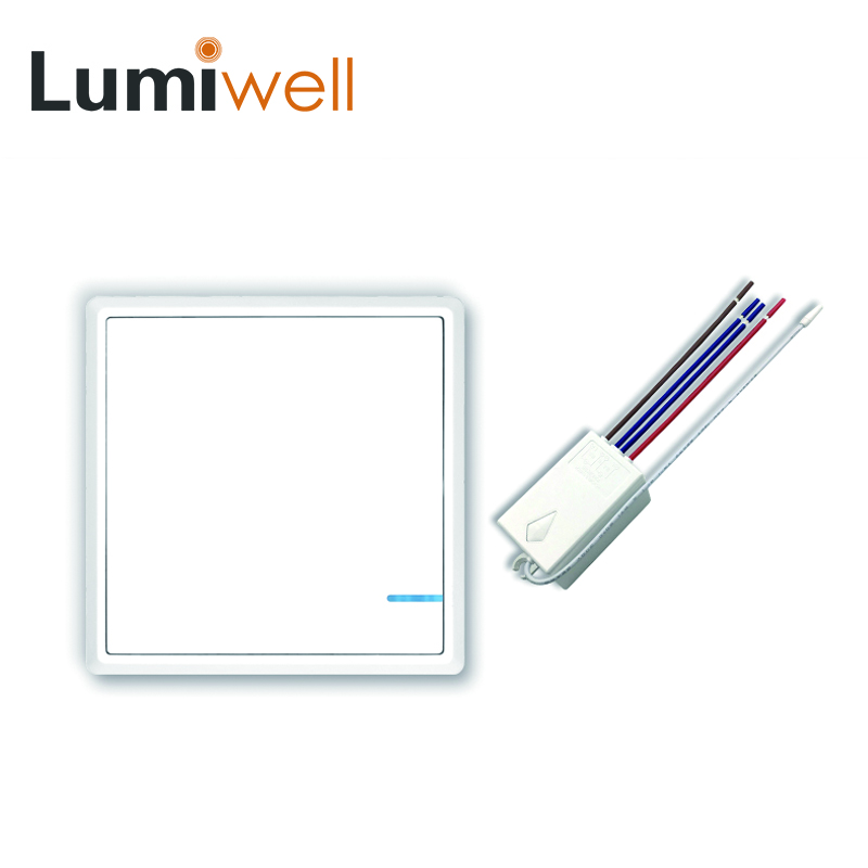 Lumiwell Wireless Light Switch With Receiver Controller