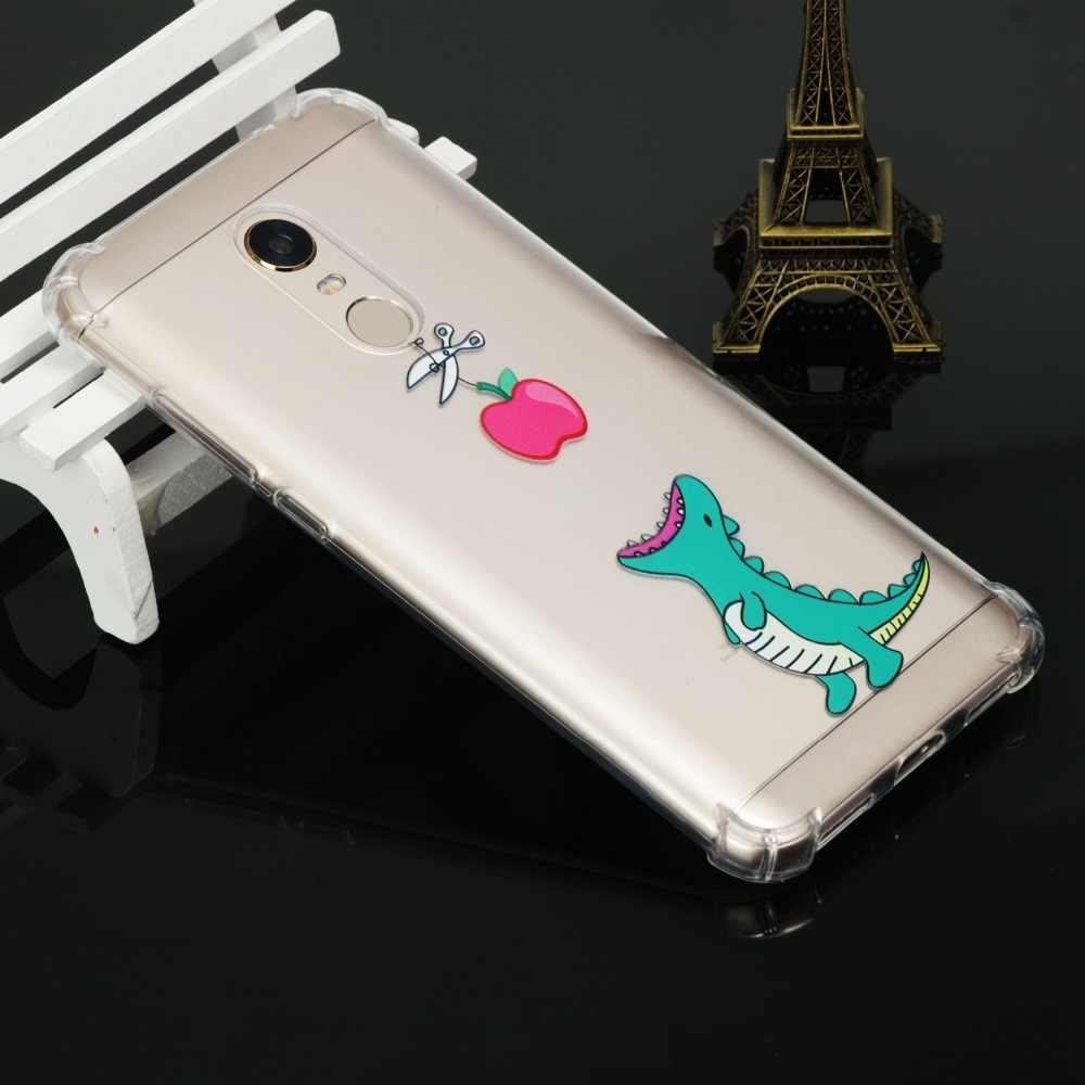 Anti-queda 5 Mais Caso Ultra fina Case Capa Para Xiaomi Redmi Nota 5A 6A 6 S2 4X 4A 5x MIX 2 S NOTA 4X capa shell