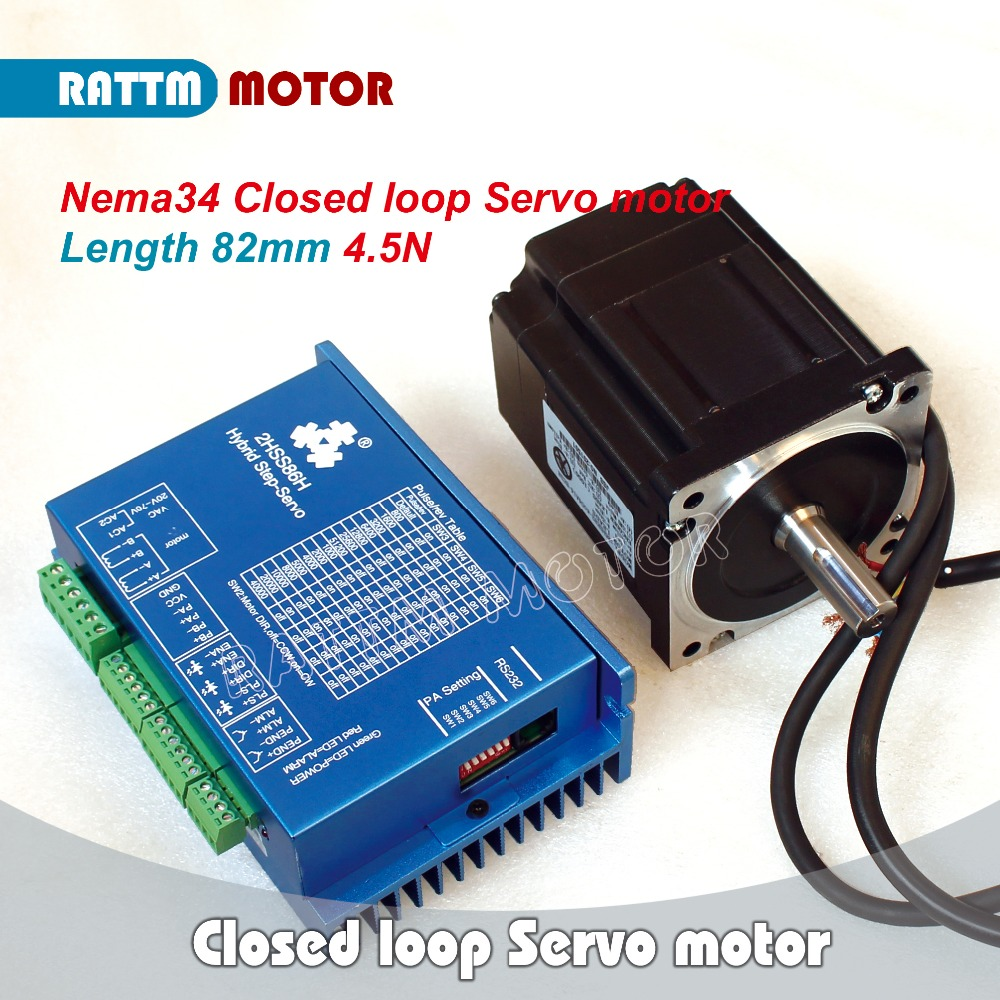 Buy Eu Delivery Nema34 Closed Loop Servo
