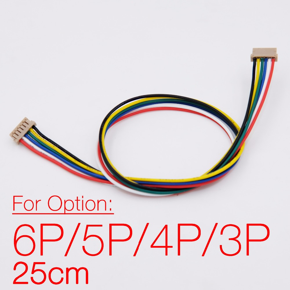 DF13 3-6 Connector 25cm cable for Pixhawk PX4 APM 2.5 2.6 2.8 Flight Controller, Model connection cable