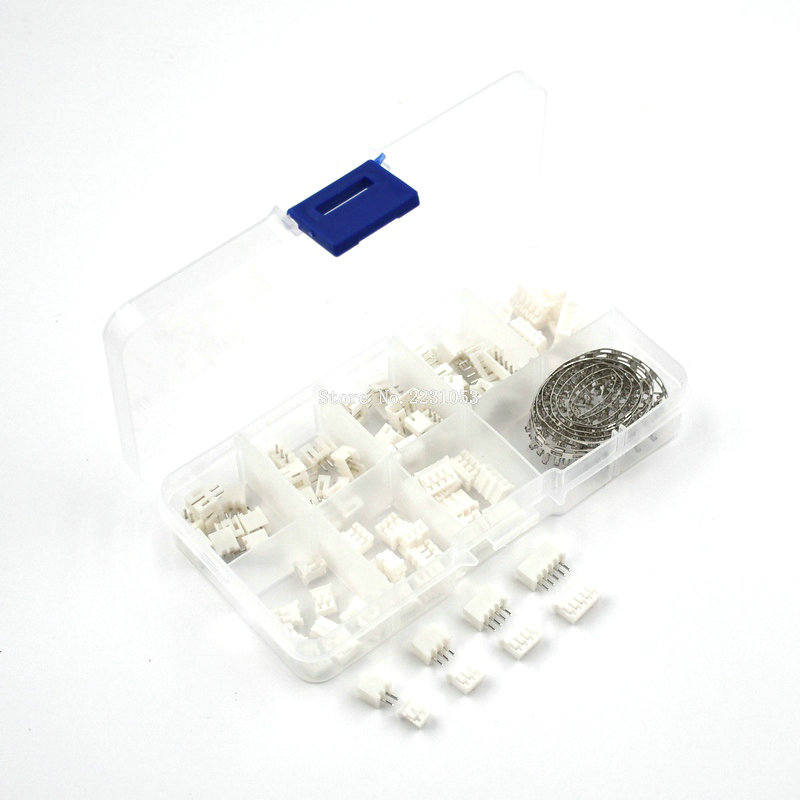 230pcs PH2.0 2p 3p 4p 5 Pin 2.0mm Pitch Terminal Kit / Housing / Pin Header JST Connector Wire Connectors Adaptor PH Kits