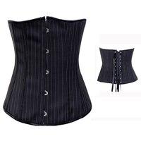 Body Shapewear Women Gothic Clothing Underbust Waist Trainer Corsets Female Slimming Body Underwear Bodysuit W582832