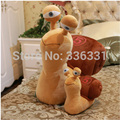 Free shipping Plush toys 25 cm turbo Fast snail small  speed snail pillow  dolls birthday gift for