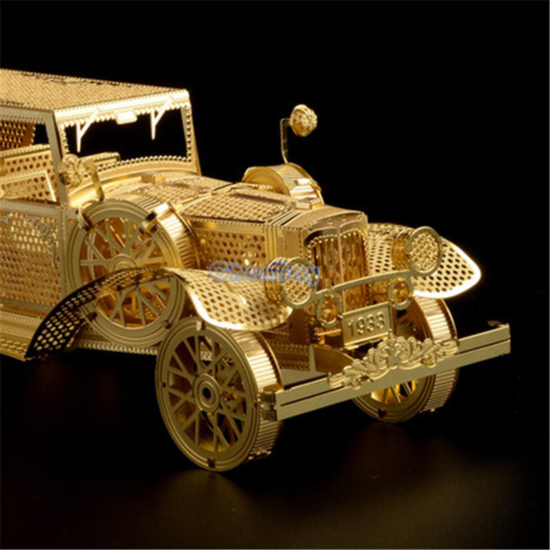 Piececool 3D Metal Puzzle Of Ford Tin Lizzy 3D Nano Laser Cut Vintage Car  Assembled Model Kits For Big Kids DIY Gifts U0026 Toys In Puzzles From Toys U0026  Hobbies ...