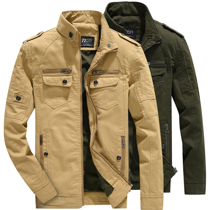 Coat Jackets Windbreaker Military-Bomber Tactical Breathable Light Outwear Men Men's title=