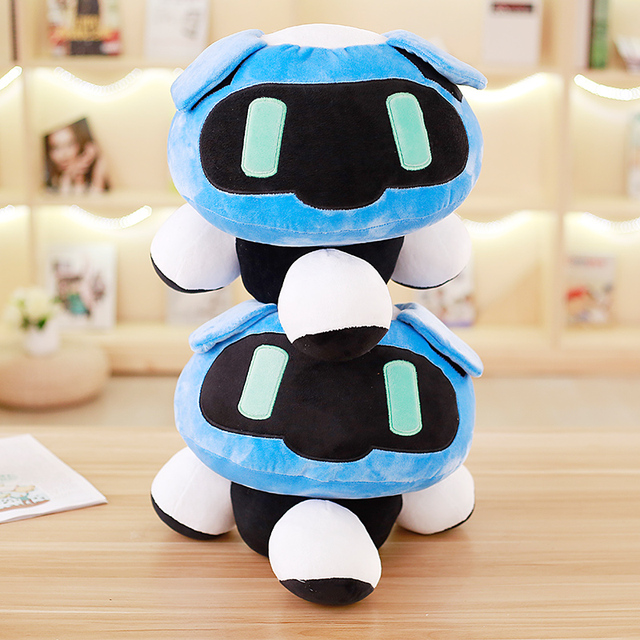 1pc 40cm Overwatches Blizzcon Mei Plush Pillow Dolls Cartoon OW Cosplay Stuffed Plush Toys Cushions Gifts 1
