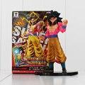 Saiya Dragon Ball Z Goku Muñecas Japón PVC Película Figuras de Acción de Dibujos Animados Figura de Anime Juguetes Modelos 18 cm
