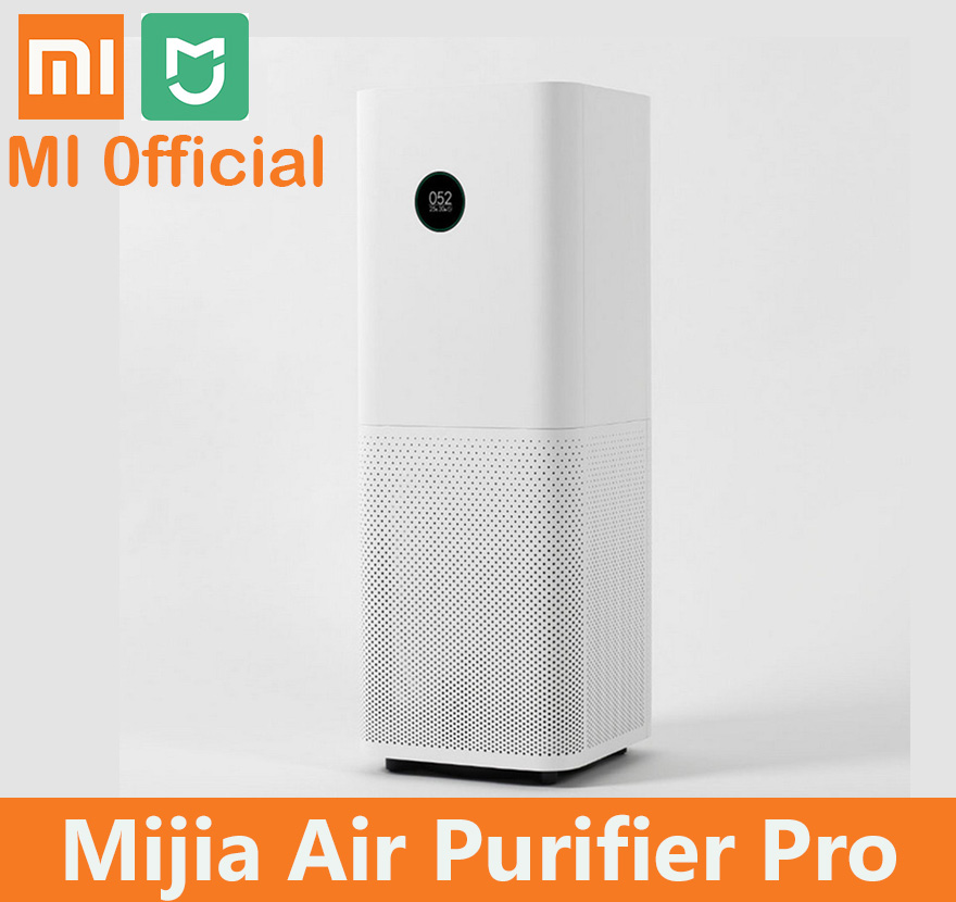 Xiaomi Mi Air Purifier Pro Air Cleaner Health Humidifier Smart OLED CADR 500m3 h 60m3 Smartphone