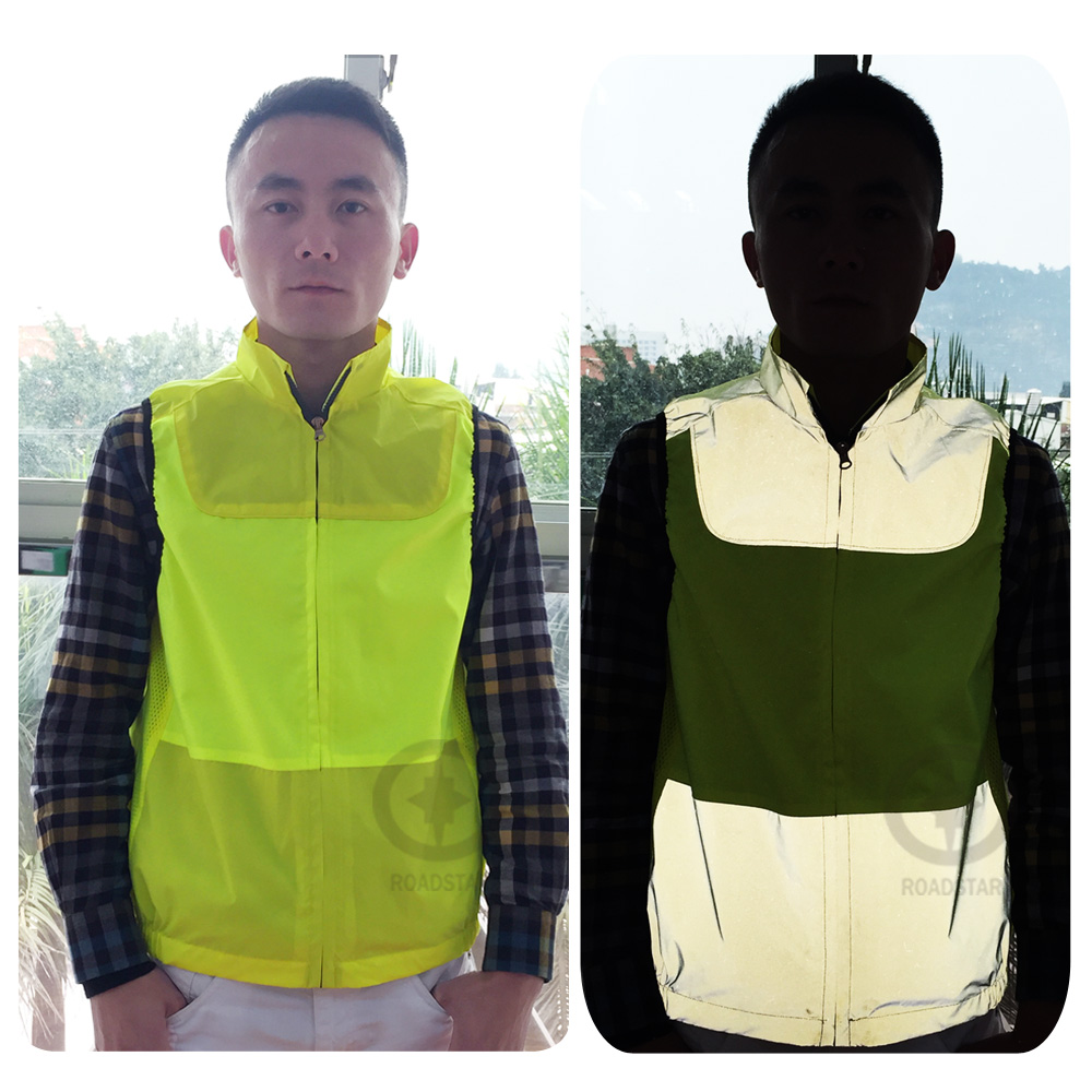 hot sell colorful reflective vest for cycling safety clothing free shipping ...