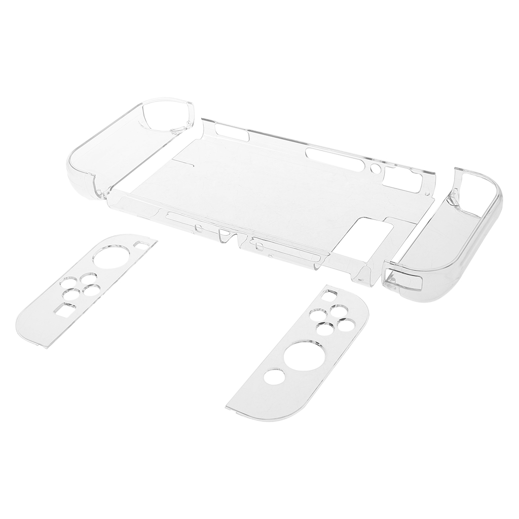 Protective Case Crystal Cover Shell Shockproof Back Clear Ultra Thin Transparent for Nintendo Switch NS Game Console Controller
