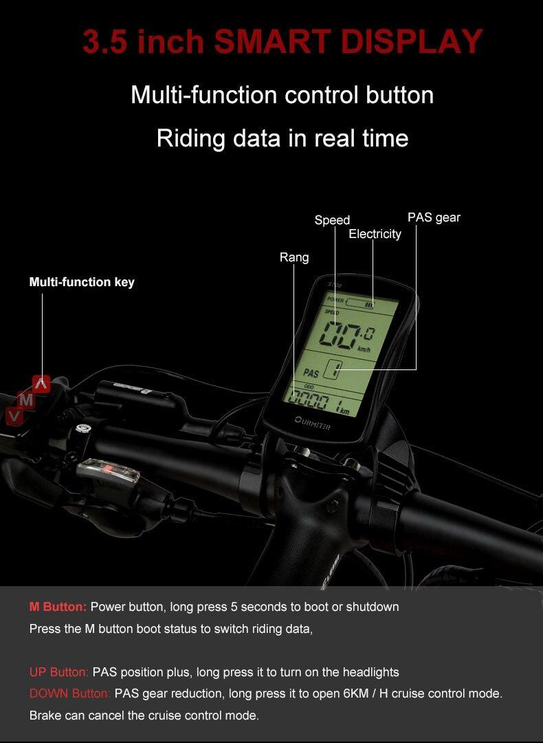 HTB14ibjXJfvK1RjSspfq6zzXFXa5 - 26inch electric mountian bicycle folding  frame 48V  lithium battery hidden frame 400w high speed motor range 60-100km