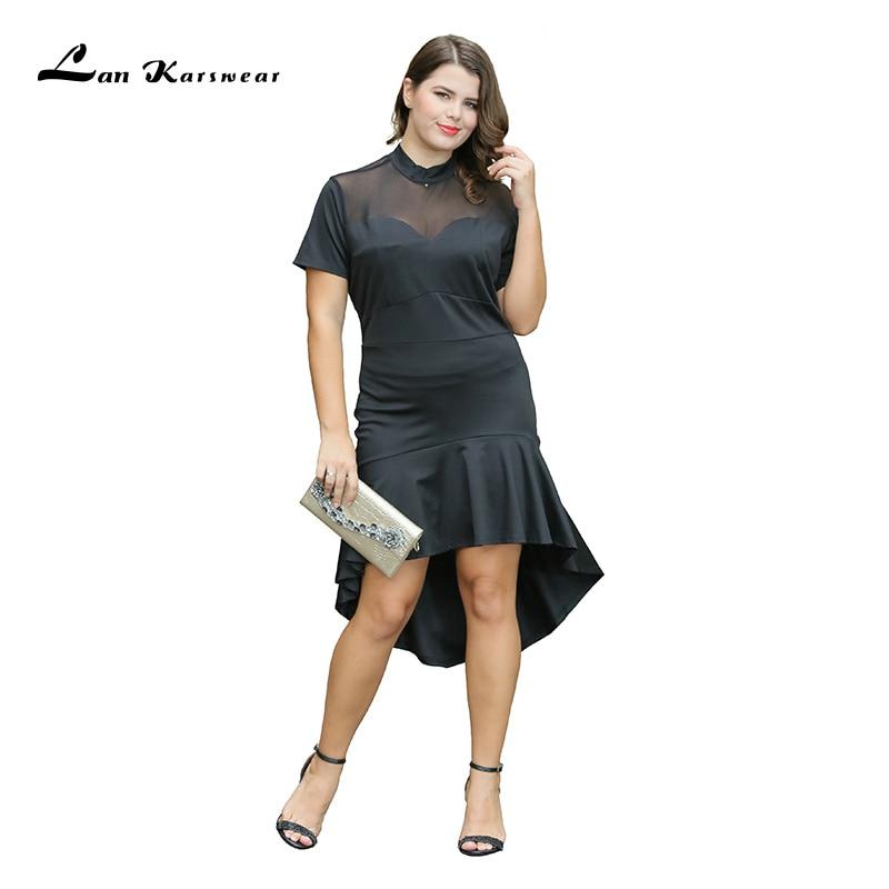 2019 dlouhé elegantní společenské šaty ženy sexy šaty noční klub nosit plus velikosti společenské šaty černá bílá dámská šaty Midi velká velikost XXXL