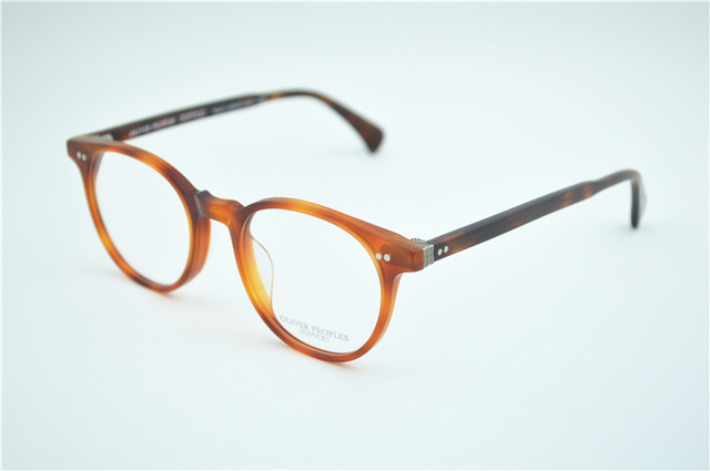 4369d15d1d Vintage optical glasses Oliver Peoples OV5318 delray Myopia reading Glasses  Frame Men Women Retro Eyeglasses frame