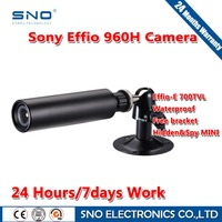SNO Brand Analog HD 700TVL Sony Effio CCD Color 3 6mm Lens Mini Bullet CCTV Waterproof