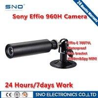 SNO Brand Analog HD 700TVL Sony Effio CCD Color 3 6mm Lens Mini Bullet CCTV Waterproof