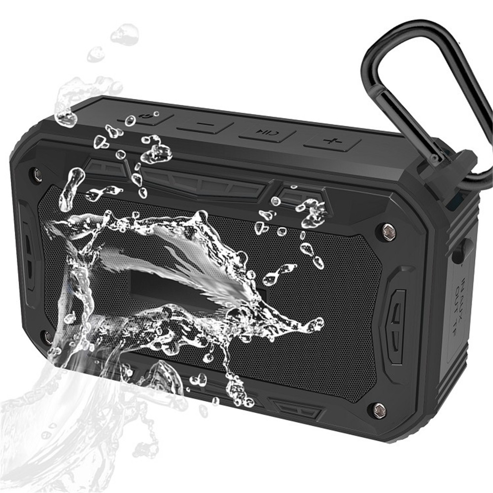New recommended outdoor waterproof IP67 Bluetooth speaker 6W portable audio hands free calling in Portable Speakers from Consumer Electronics